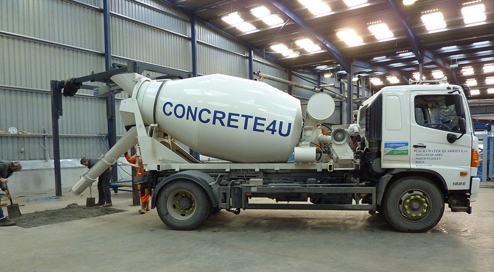 We are a privately owned concrete company supplying the Ripon, Harrogate, York, Thirsk, Northallerton, Catterick, Leeming and North Leeds areas.