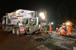 Nightwork Rail Concrete